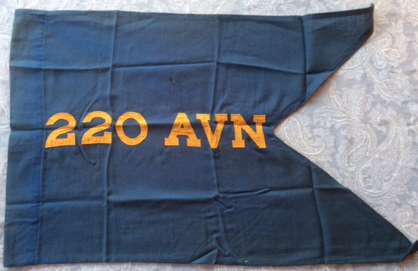 220th Aviation Company original guidon