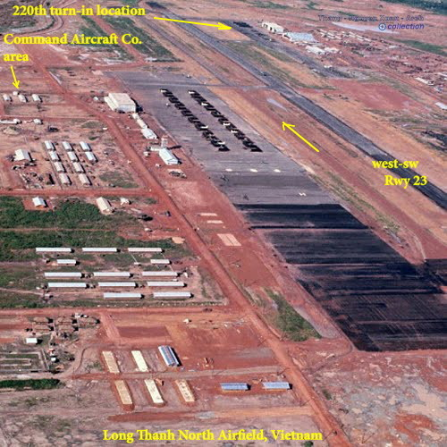 Long Thanh North Airfield aerial view photo