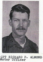 CPT Richard J. Almond, Motor Officer, 1971