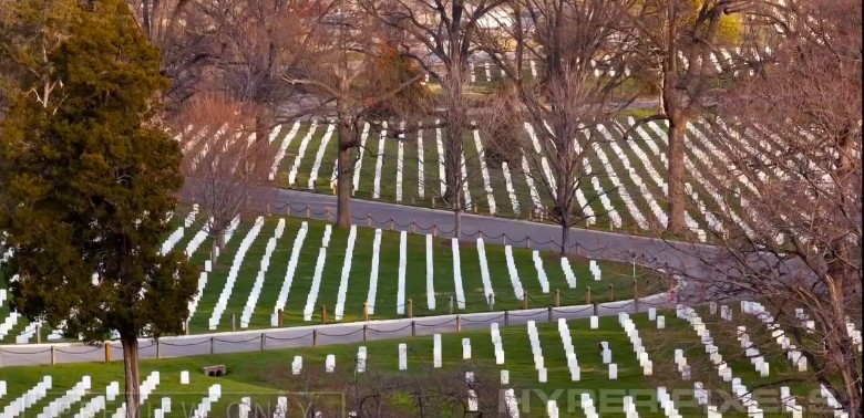 Arlington National Cemetery view