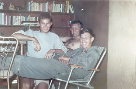 L to R Bobby Arrington, Gene Hayes and Pete Blevins 1969