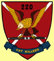 The Cat Killers Patch, 220th Avn Co