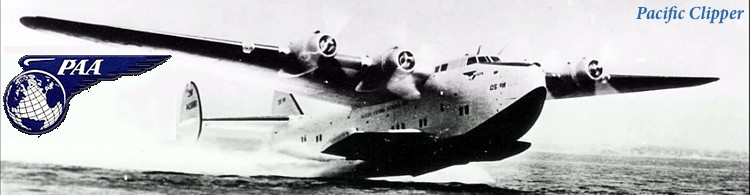 Pan American Airlines Flying Boat, Pacific Clipper