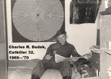 Charles R. Dudek, Catkiller 32, photo courtesy of Dean Liken