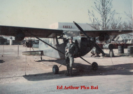 Ed Arthur at Phu Bai