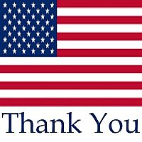 Thank you, Veterans, for your sacrifice and service