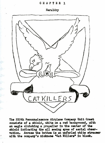 Unit Heraldry, page 1, from the National Archives for 1967, 1968 and 1969