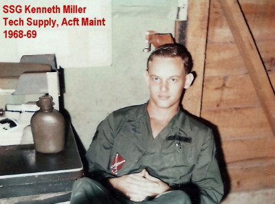 SSG Kenneth W. Miller, Tech Supply, 1969, photo Jim Turnbow