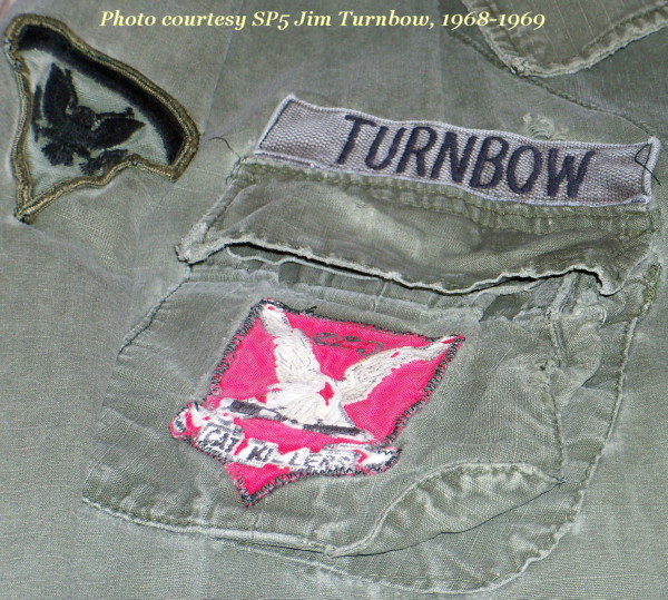 Cat Killer patch, courtest of Jim Turnbow