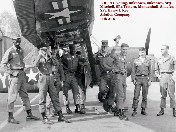 SP4 Harry I. Kee, first tour in Germany with 7th Army, circa 1963-64