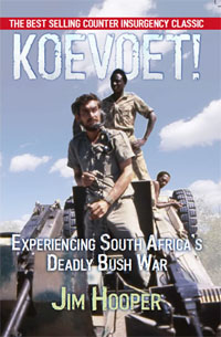 cover page for Jim Hooper's book Koevoet!