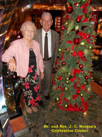 Mr. and Mrs. Jesse C. Morgan, Celebrating their 60th Wedding Anniversary