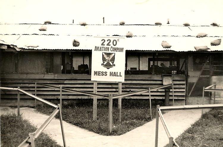 Photos of the 220th Mess Hall and cooks, courtesy of Jesse Morgan