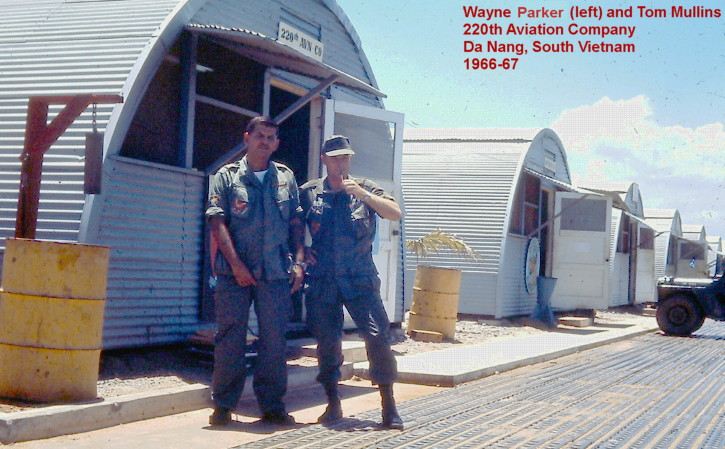 photo, SP5 Wayne Parker, Catkiller Crew Chief, July 1966 to July 1967