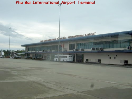 Phu Bai International Airport Terminal
