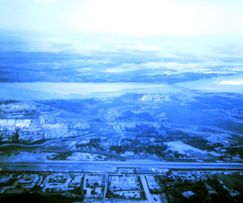 Photo of Quang Ngai Airport, aerial view 1966-72