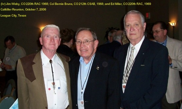 Jim Wisby, Bernie Bruns, and Ned Miler