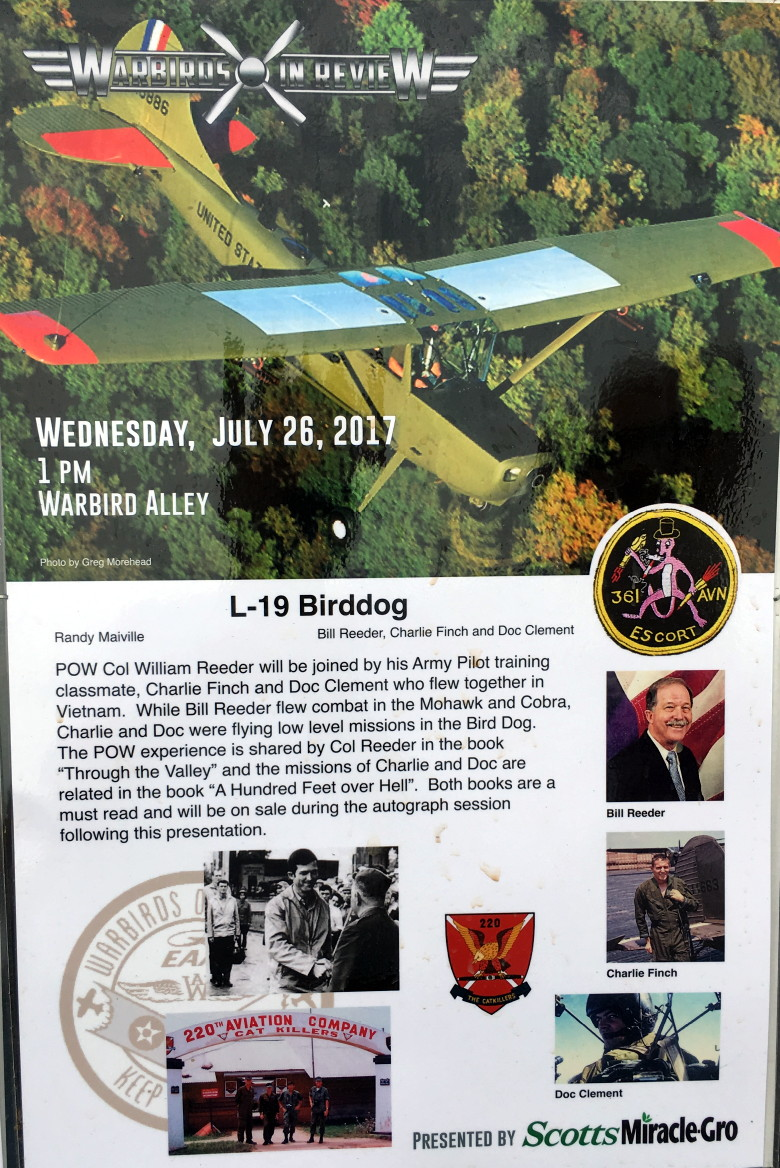 Warbirds in Review flyer, 2017